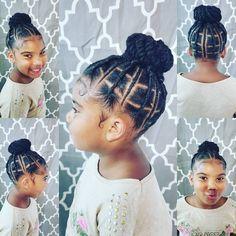 hair hair hair Shrinkage Inspo: 12 Natural Hair Styles That Embrace Shrinkage Toddler Braided Hairstyles, Toddler Braids, Black Kids Hairstyles, Natural Hairstyles For Kids, Braids For Kids, Girls Braids, Natural Hair Styles, Hair Girls, Easy Hairstyle
