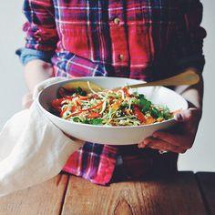Raw Thai Citrus Crunch Salad | Turntable Kitchen