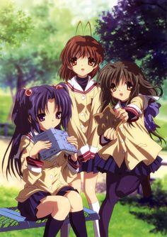 Kotomi Ichinose, Nagisa Furukawa and Fuko Ibuki! they are very beautiful :)