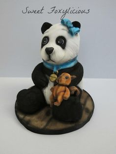 Alessia The Panda Cake by Sweet Foxylicious
