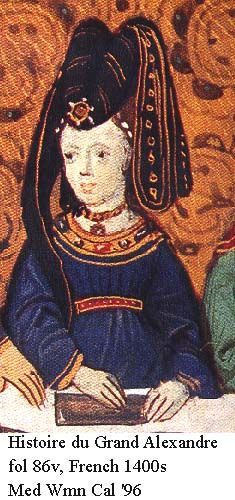 Histoire du Grand Alexandre, French 1400s