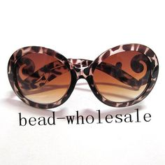 Popular Semi Transparent Round Retro Inspired Women Butterfly Arms Sunglasses | eBay