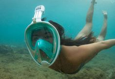 The Ninja Full Face Snorkeling Mask is a uniquely designed advanced technology snorkeling mask that allows you to breathe effortlessly. Valsalva Maneuver, Full Face Snorkel Mask, Scuba Diving Gear, Full Face Mask, Cool Inventions, Water Sports, Gopro, Cool Stuff, Bug Out Bag