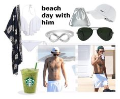 """""""haz"""" by styles-fashions on Polyvore featuring NIKE, Ray-Ban and Jewel Exclusive"""