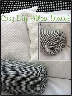 quick and easy way to change out decorative pillow accents for any holiday/season