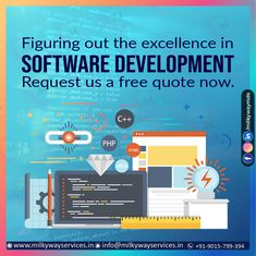 Software Development Figuring out the excellence in SOFTWARE DEVELOPMENT Request us a free quote now. Call ☎️ at : +91-9015-799-394 For more information about service visit our site right now- . . #software #softwaredevelopment #softwaredesign #development #technology #developer #customsoftware #webdesign #websitedevelopment #startup #website #schoolsoftware #erpsoftware #hrmsoftware #ecommerce #businessapp #business #itcompany #branding Free Quotes, Software Development, Ecommerce, Web Design, Management, Branding, Technology, Website, School