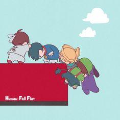 Human Fall Flat, Fall Flats, Twitter Sign Up, Snoopy, Shit Happens, Comics, Fictional Characters, Games, Cartoons
