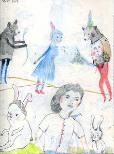 sketchbook - cristina sitja rubio