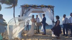 Amazing beach wedding