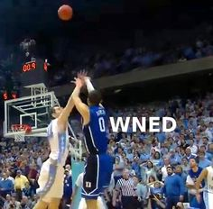 Austin Rivers hits 3-pointer at the buzzer to beat North Carolina in Chapel Hill!