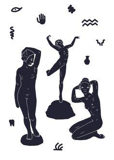 Art And Illustration, Black And White Illustration, Poster S, Arte Popular, Art Moderne, Art Inspo, Collage Art, Line Art, Vintage Art