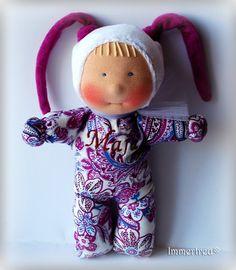 Maja - fabric doll by Immertreu®