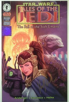 Star Wars: Tales of the Jedi - The Fall of the Sith Empire #1A  Signed NM 1997