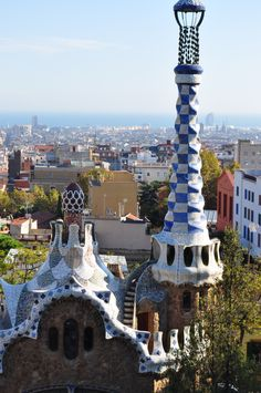 Parc Guell by Gaudi  photo by Jeff DuBro
