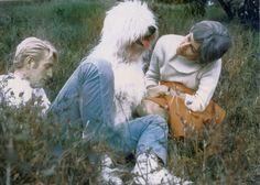 1967 Rod McKuen and Anita Kerr and Katie (Old English Sheepdog) 02 color photo