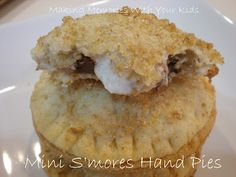 Making Memories ... One Fun Thing After Another: Mini S'mores Hand Pies