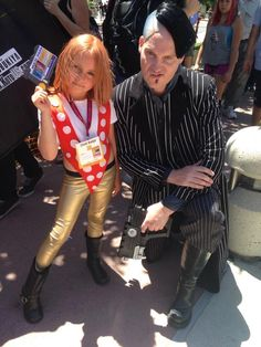 Kid Leeloo and Zorg cosplay