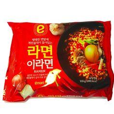 [Emart] Spicy Beef Korean Instant Noodle E-RAMEN x 3,6,10pcs Fire Hot Egg Ramyun #EMART