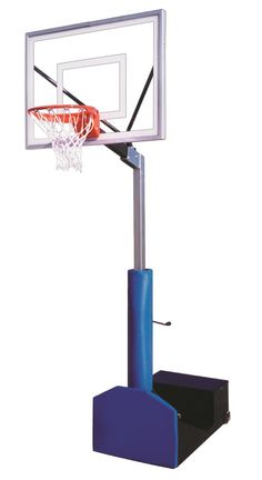 First Team Rampage III Adjustable Portable Basketball Hoop 54 inch Acrylic from NJ Swingsets