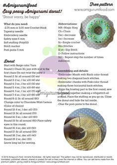 Mesmerizing Crochet an Amigurumi Rabbit Ideas. Lovely Crochet an Amigurumi Rabbit Ideas. Crochet Cake, Crochet Food, Crochet Pillow, Cute Crochet, Easy Crochet, Knit Crochet, Crochet Amigurumi Free Patterns, Crochet Dolls, Crochet Stitches
