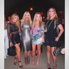 Miami housewives take on Art Basel 2016 Real Housewives, Girls Night Out, Beautiful Celebrities, Leather Skirt, Celebrity Style, Photo And Video, Instagram Posts, Real Estates, Basel
