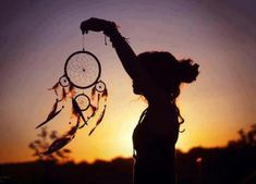 dream catcher on the wind