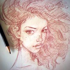 Morning sketch dook..