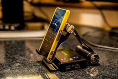 Produkt Test Allreli Power Bank with Stand / Handyhalterung mit Akku 7800mAh Zerlegt und vermessen - ganz OK.
