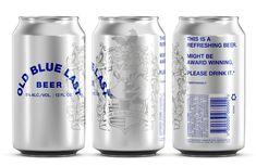 Old Blue Last Beer — The Dieline - Branding & Packaging Design