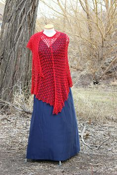 Ravelry: kmacmillan2003's Little Red Riding Who? (Blodeuwedd)   Pattern: Blodeuwedd, Sue Lazenby (available 11 May '14)