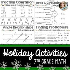About this resource : No Prep Christmas Math Activities. This resource includes 27 no prep activities for the month of December. Students can practice important skills while matching and coloring. The coloring pages include Christmas / Winter / Holiday themes.