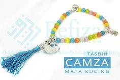 Tasbih mata kucing Camza. Cocok untuk hadiah orang tersayang.