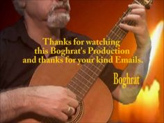 GOLDEN DREAMS J.Marufi arr. for Classical Guitar By: Boghrat    خوابهای ...