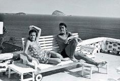#travelcolorfully elis regina and her husband ronaldo boscoli enjoying a sunny day in rio de janeiro, in the 70s.
