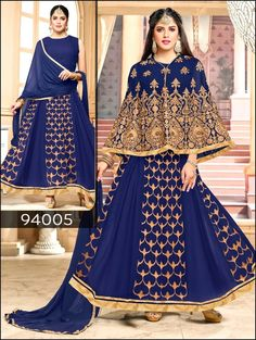 Ethnic Anarkali Salwar New Suit Dress Designer Pakistani Kameez Indian Bollywood #TanishiFashion #CropTop