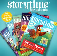 Win a subscription to Storytime for your school over at Teaching Ideas! Closes Sunday 20 March: http://www.teachingideas.co.uk/news/win-a-school-subscription-to-storytime-magazine