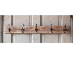 Rustic Coat Hanger – Crabapple Decor