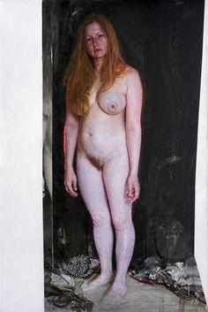 Viktoria Savenkova, 'I AM', 2020, oil on canvas, 59 1/10 × 39 2/5 in, 150 × 100 cm,
