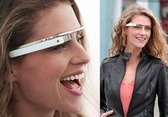 Augmented reality glasses. Welcome to the future, sponsored by Google.