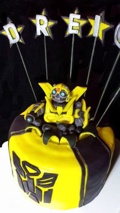 1000 Images About Bumblebee Transformers Cake On