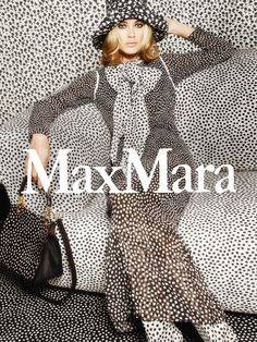 Carolyn Murphy by Mario Sorrenti for Max Mara Spring Summer 2015.  I am sure Mario Sorrenti was inspired by the paintings of the Jugendstil movement of the 20th century!