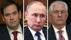 Tillerson, During Confirmation Hearing, Says Russia Poses 'Danger' But Refuses to Call Putin 'War Criminal'