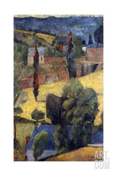 Landscape; Paysage, 1906 Giclee Print by Paul Serusier at Art.com