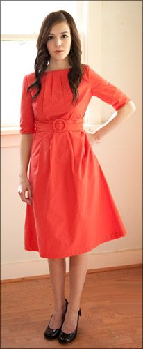 $59 Mikarose coral dress (also in black and turq)