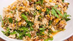 Recipe from Everyday Gourmet with Justine Schofield Cauliflower Tabouli Healthy Salads, Healthy Eating, Healthy Foods, Whole Food Recipes, Cooking Recipes, Vegetarian Recipes, Healthy Recipes, Free Recipes, Healthy Cook Books