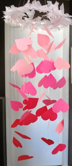 Pink hearts mobile  www.theheartlinknetwork.com