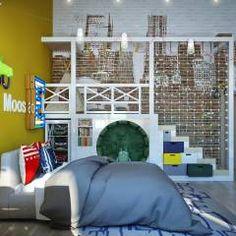 Детская комната для мальчика: Детские комнаты в translation missing: ru.style.Детские-комнаты.Модерн. Автор - Sweet Home Design