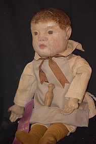 Antique Doll Philadelphia Baby Cloth Wonderful Rare Dressed (item #1279404) #dollshopsunited