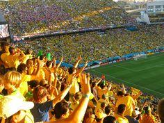 O jogo de abertura da Copa do Mundo 2014, Brasil x Croacia. | Carioca DNA #cariocadna #worldcup2014 #copa2014 #Brasil2014 #soccer #futebol #vaitercopa
