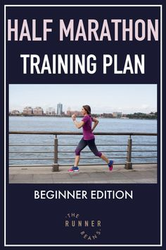 """""""Is running a half marathon on your bucket list? Get prepped for your half marathon with this effective half marathon training plan #marathontrainingplan #marathontrainingplanforbeginners #marathontraining #trainingforahalfmarathon #therunnerbeans"""" Marathon Training Diet, Marathon Training Plan Beginner, Marathon Motivation, Training Motivation, Duathlon Training, Speed Workout, Workouts, Running Humor, Running Gear"""